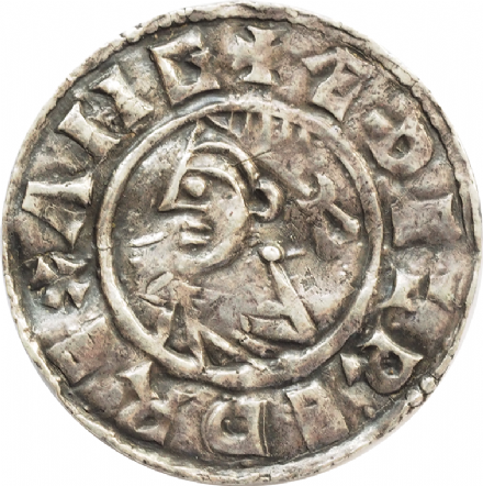 Aethelred II Silver Penny 978 - 1016 Last Small Cross Type